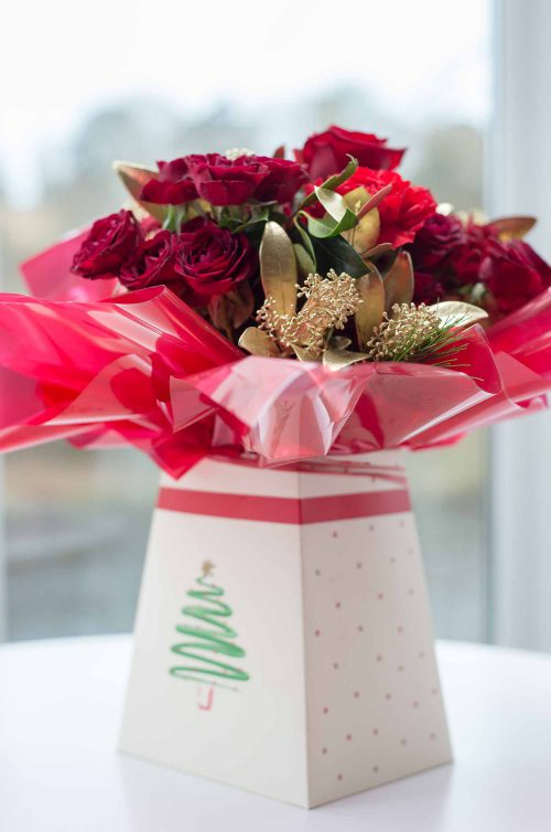 Festive Gift Box From
